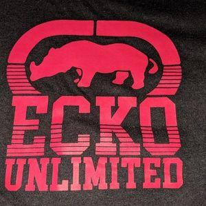 Ecko Unlimited, Longsleeve T-Shirt. Minimalist